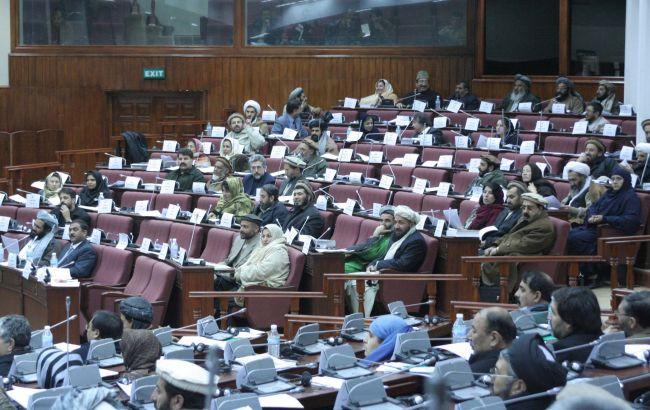 Фото: парламент Афганистана