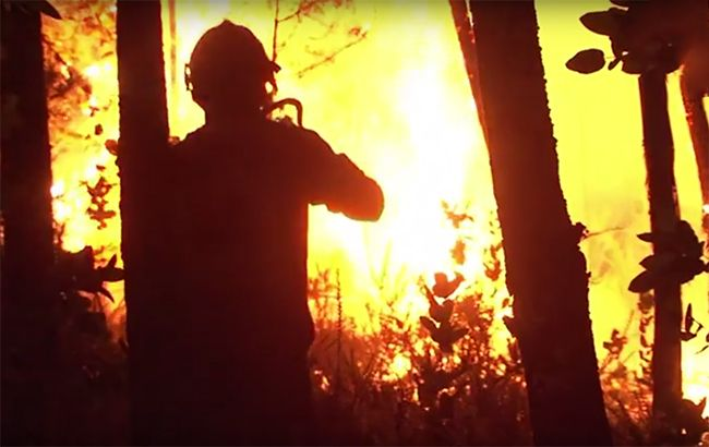 Фото: пожар (webscreenshot/youtube/AFP news agency)