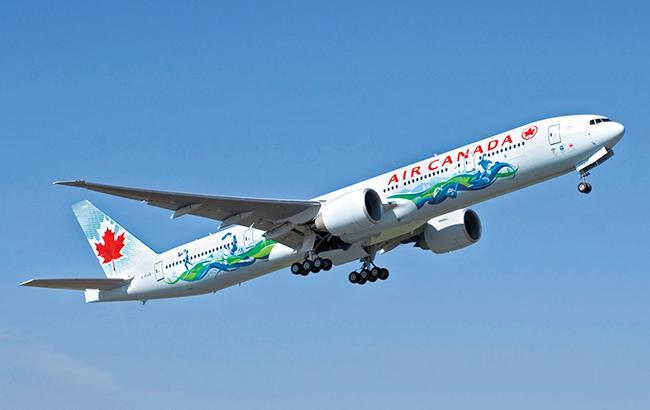 Фото: самолет Air Canada (Air Canada enRoute)