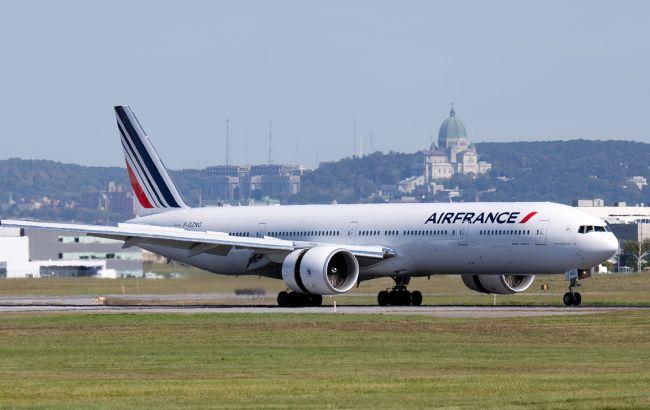 Фото: самолет Air France