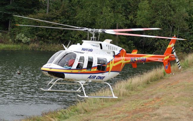 Фото: вертолет компании Pafford EMS (paffordems.com)