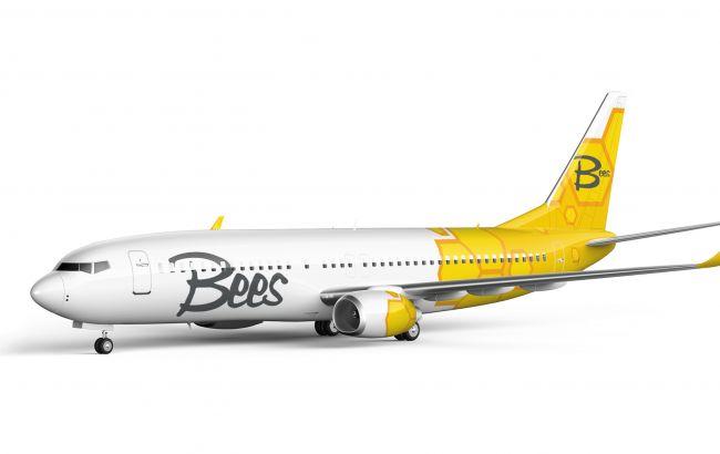 Новый лоу-кост Bees Airline зарегистрировал в Украине два самолета