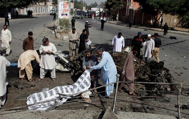 Фото: серія терактів у Пакистані (AJEnglish twitter pakistan)