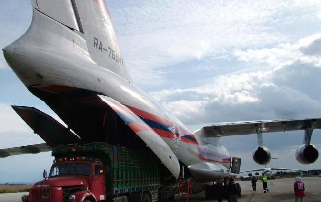 Фото (AFP): В Сирії приземлилися три російських військових літака