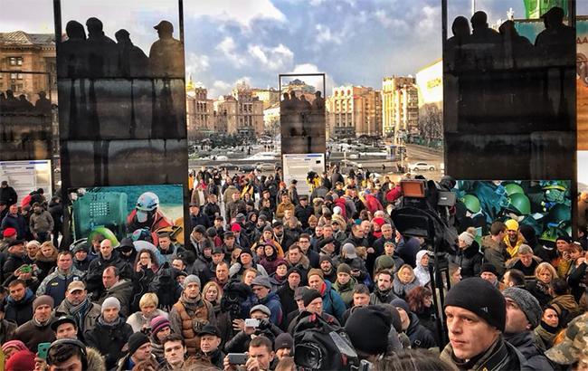 У Києві на Майдані вимагали ув'язнити учасника нападу на журналіста Веремія