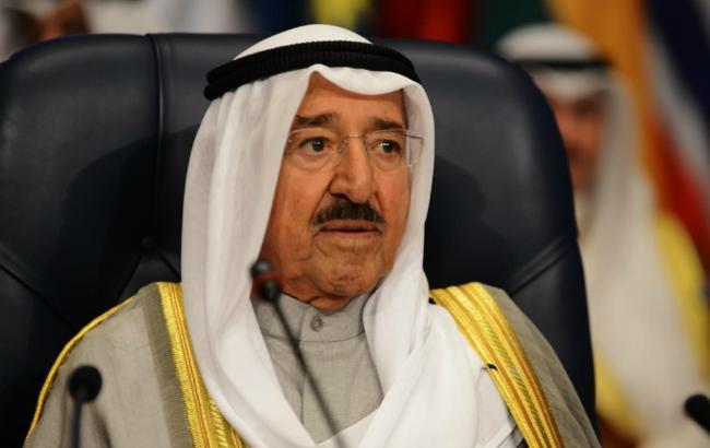 Фото: эмир Кувейта Сабах IV