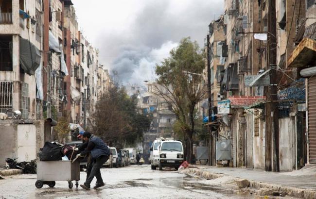 ВАлеппо началась операция поэвакуации бунтовщиков
