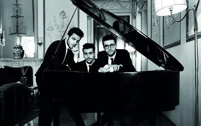 Фото: Итальянское поп-оперное трио IL VOLO впервые выступит в Украине (пресс-служба)