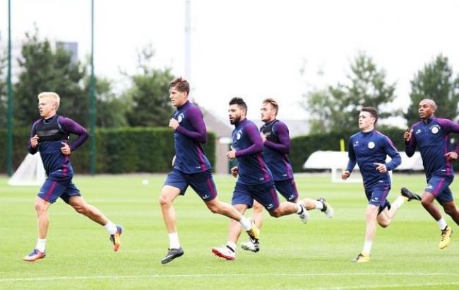 "Фото: тренировка ""Манчестер Сити"" (mancity.com)"