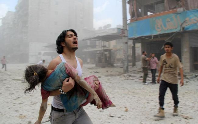 Фото: ЮНІСЕФ б'є на сполох через 100 тис. дітей Алеппо, які перебувають під загрозою