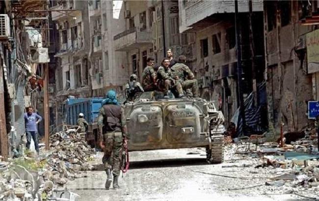 Фото: битва за Алеппо