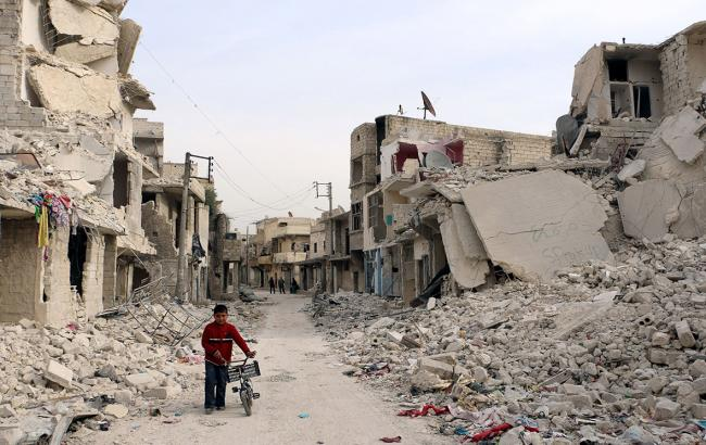 Фото: в Алеппо зафіксована хімічна атака