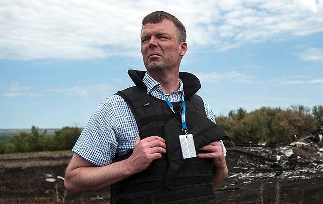 Хуг рассказал об окончании работы на посту первого замглавы СММ ОБСЕ в Украине