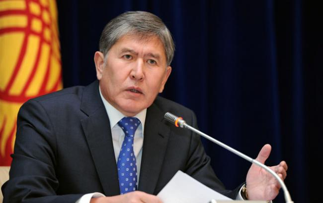 Фото: президент Киргизской Республики Алмазбек Атамбаев