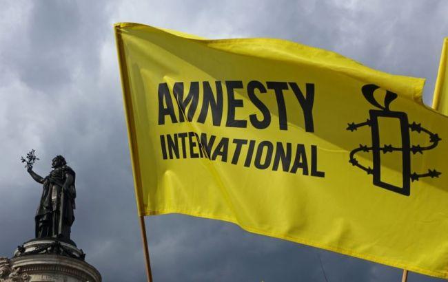 Фото: офіс Amnesty International був опечатаний у Москві 2 листопада