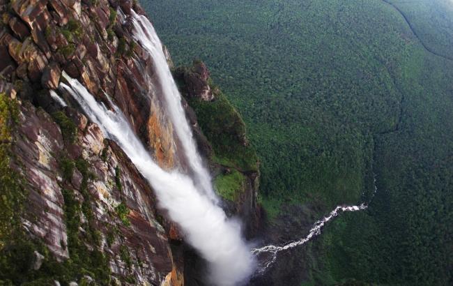 Фото: Водоспад Анхель