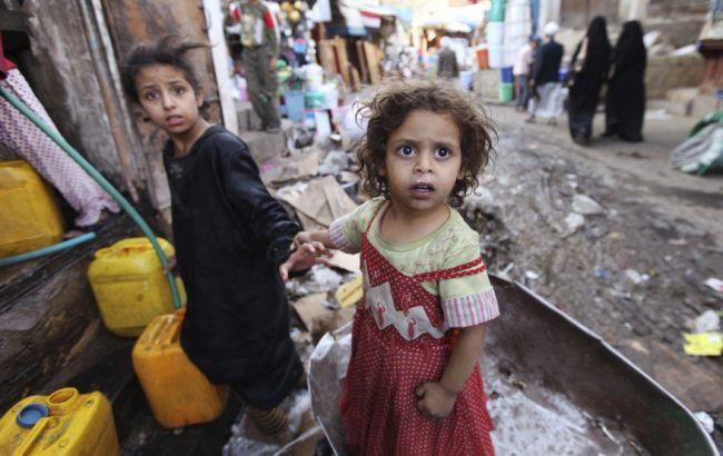 Фото: у Ємені з-за війни загинули 1400 дітей
