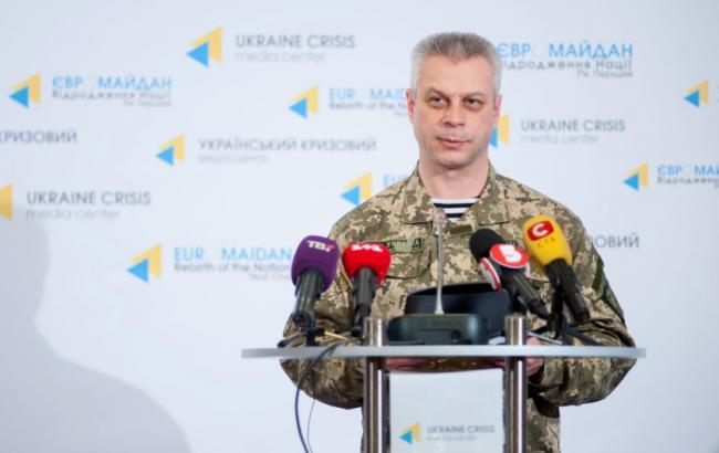 В зоні АТО за добу поранено 4 українських військових, загиблих немає, - АПУ
