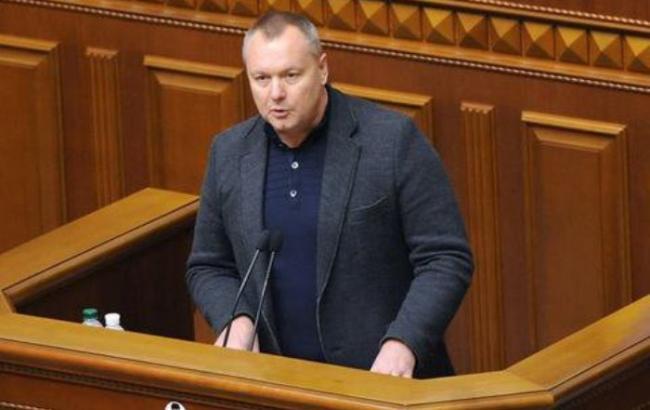 ГПУ завела дело надепутата, предложившего план поснятию санкций с Российской Федерации