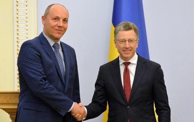Парубий и Волкер обсудили шаги по возвращению захваченных РФ моряков