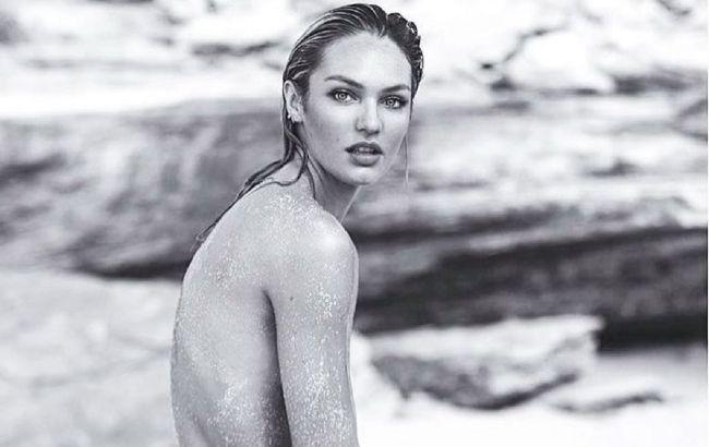 """""""Ангел"""" Victoria's Secret Кэндис Свейнпол восхитила обнаженным телом в жаркой съемке"""