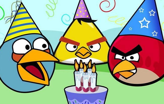 Фото: популярна гра Angry Birds (Mashable)