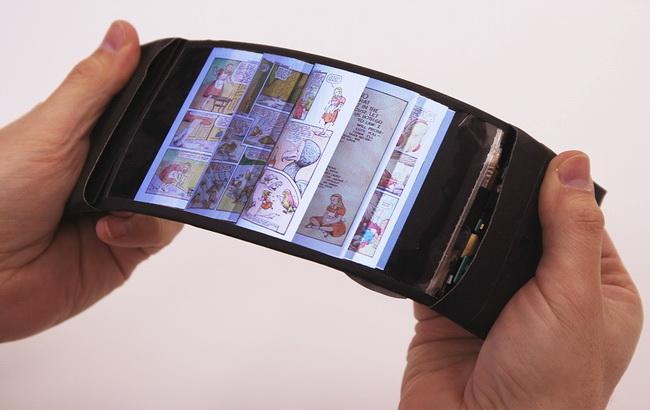 Канадська компанія розробила прототип гнучкого 3D-смартфона