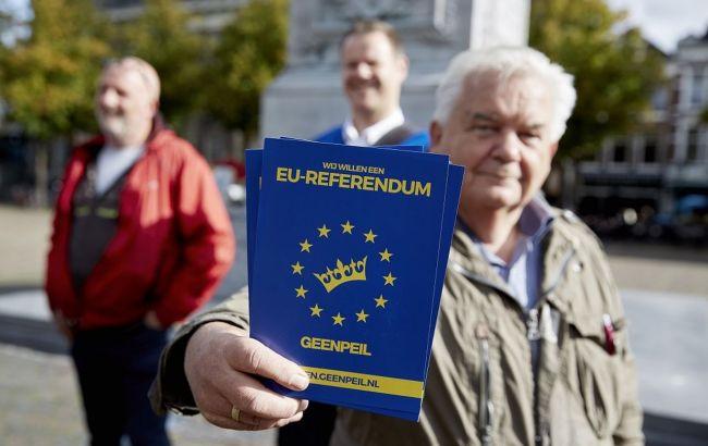 Организаторы референдума в Нидерландах заявили о его цели на выход страны из ЕС