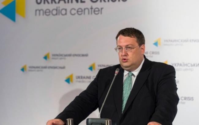 """Народний депутат від """"Народного фронту"""" Антон Геращенко"""