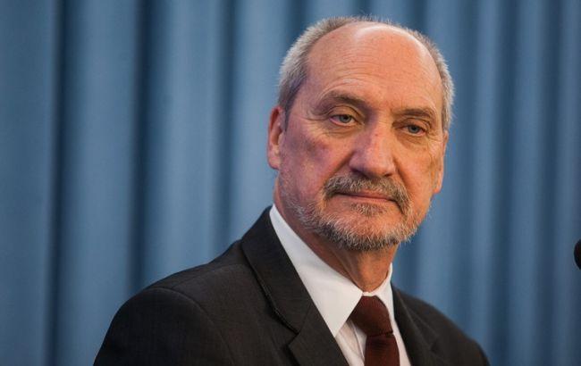 Фото: міністр оборони Польщі Антоні Мацеревич