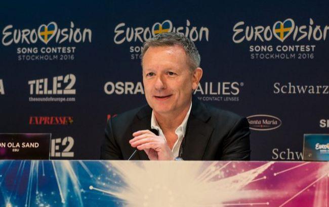 Куратор Євробачення Йон Ола Санд (eurovision.tv)