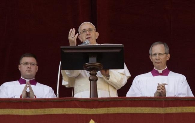 Папа Франциск надеется на решение конфликта в Украине