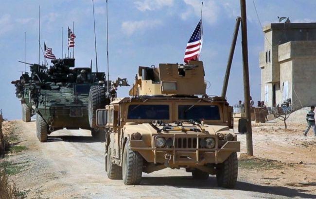 Колонна американских военных вошла в Сирию