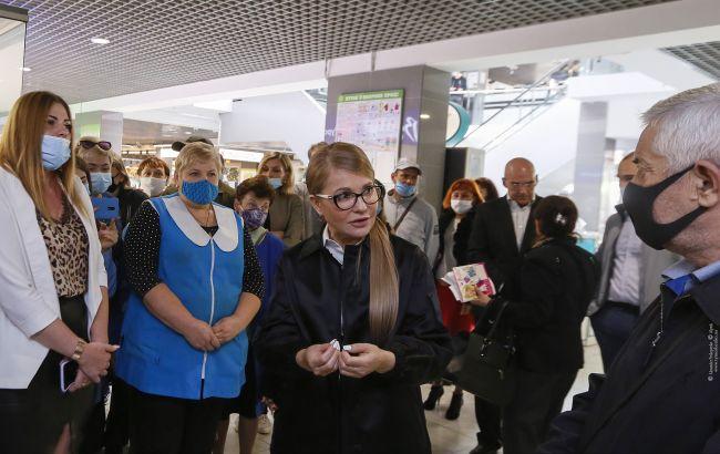 Тимошенко: місцеві вибори -шанс змінити стратегію розвитку країни