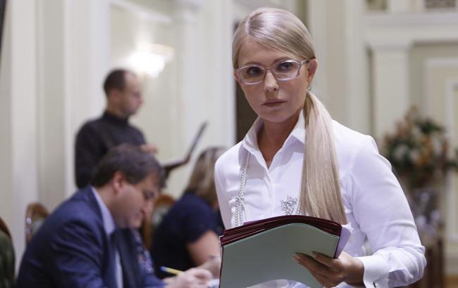 """Тимошенко предупредила власть о """"политическом конце"""""""