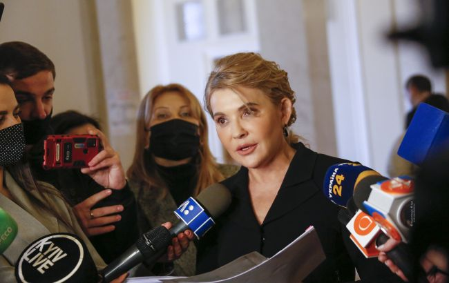 Тимошенко: парламент узгодить тарифні закони, а корупцію на ринку газу розгляне ТСК