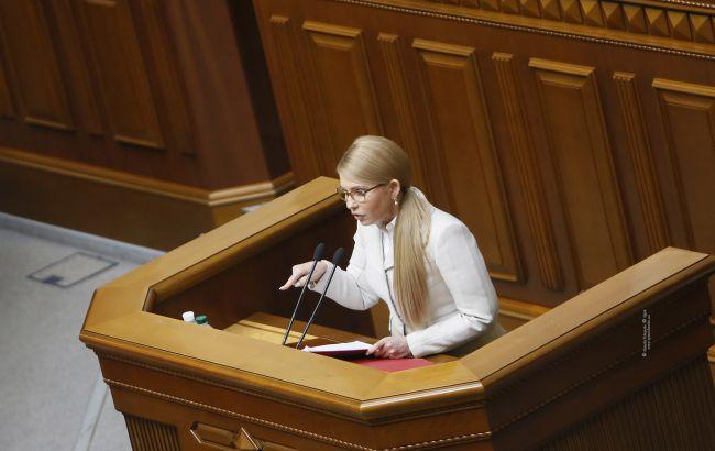 Тимошенко: Рада покрывает коррупцию в оборонке