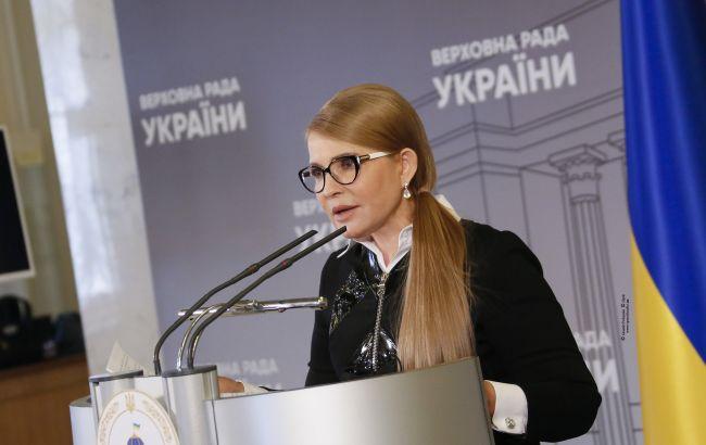 """Тимошенко: одной из причин давления на КСУ стало рассмотрение """"земельного вопроса"""""""