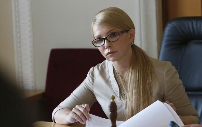 Юлия Тимошенко помолилась за мир и украинских военных в прифронтовой Константиновке (фото)