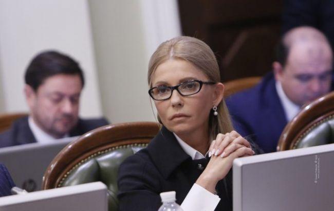 Тимошенко: закон о распродаже земли нужно снять с рассмотрения