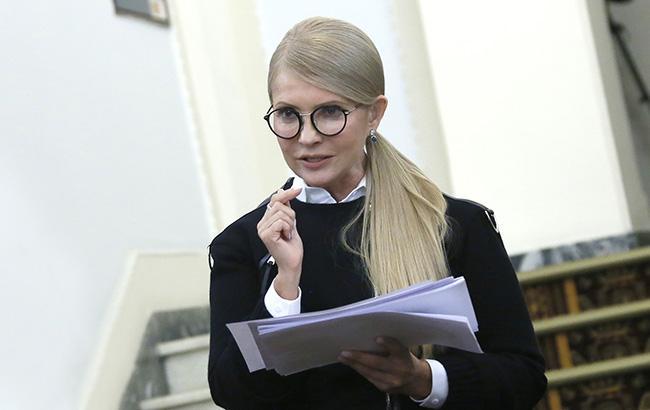 Тимошенко: новая власть установит мир и наведет порядок в стране