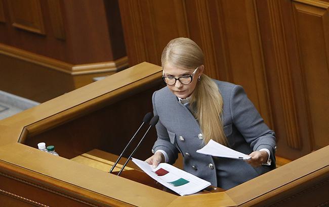 Тимошенко: газ украинской добычи будет направлен на потребности людей, а тарифы уменьшены