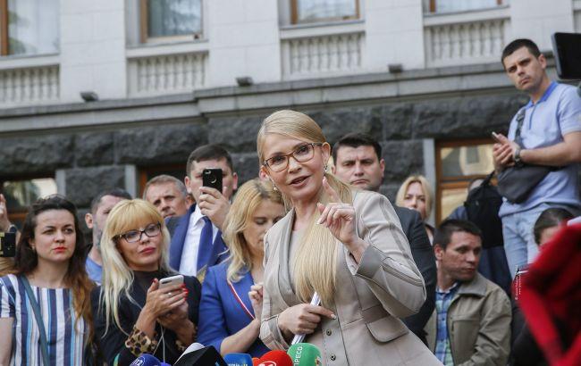 Тимошенко: перед роспуском Рады надо изменить закон