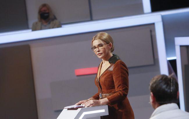 Повышение налогов несовместимо с ростом экономики, оно разрушает будущее Украины, - Тимошенко