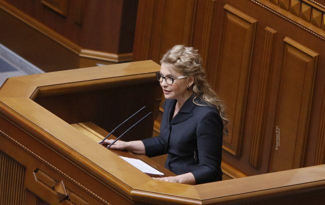 Тимошенко: на этой неделе власть планирует окончательно лишить украинцев земли