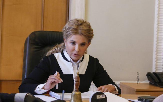 План Тимошенко по снижению цены на газ поддержали почти 500 местных советов