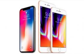 Фото: iPhone X и iPhone 8 (apple.com)