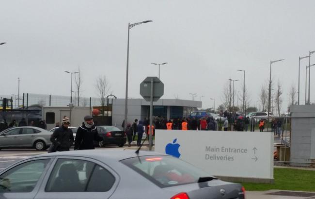 Фото: минирование офиса Apple в Ирландии оказалось фейком (9to5mac)