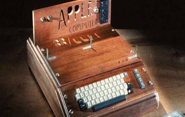 Фото: проданий перший комп'ютер Apple (portaltele.com.ua)