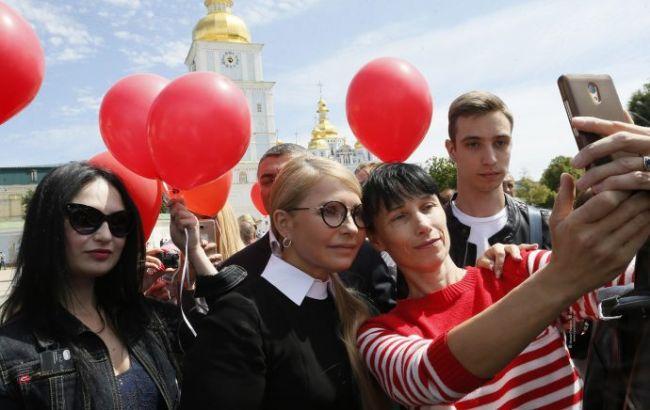 Тимошенко: мечтаю дать украинцам счастливую жизнь и знаю, как это сделать